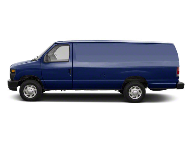 Dark Blue Pearl Metallic 2010 Ford Econoline Wagon Pictures Econoline Wagon Super Duty Extended Wagon XL photos side view