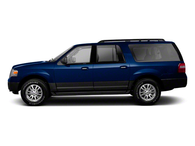 Dark Blue Pearl Metallic 2010 Ford Expedition EL Pictures Expedition EL Utility 4D King Ranch 4WD photos side view