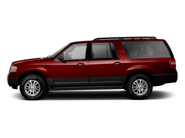 Royal Red Metallic 2010 Ford Expedition EL Pictures Expedition EL Utility 4D Limited 2WD photos side view