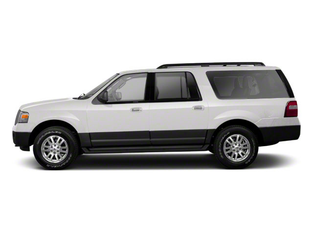 Oxford White 2010 Ford Expedition EL Pictures Expedition EL Utility 4D Eddie Bauer 2WD photos side view