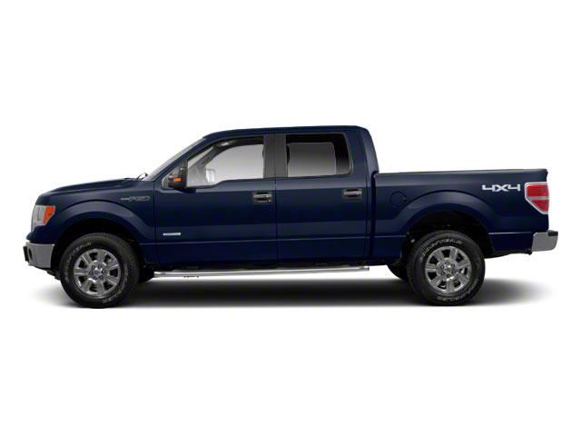 Dark Blue Pearl Metallic 2010 Ford F-150 Pictures F-150 SuperCrew Lariat 4WD photos side view