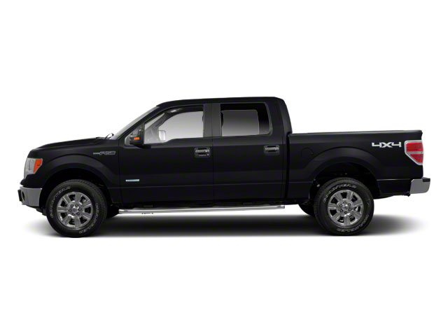 Tuxedo Black 2010 Ford F-150 Pictures F-150 SuperCrew Lariat 4WD photos side view