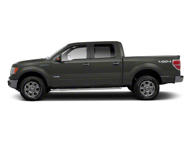 Sterling Grey Metallic 2010 Ford F-150 Pictures F-150 SuperCrew XLT 4WD photos side view