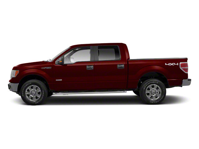 Royal Red Metallic 2010 Ford F-150 Pictures F-150 SuperCrew Lariat 4WD photos side view