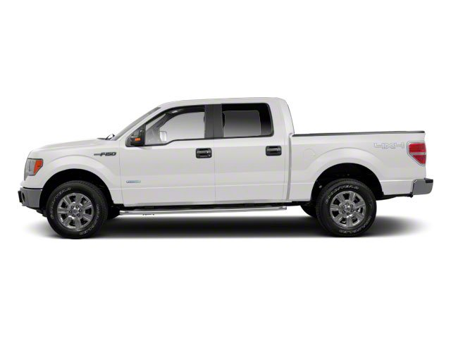 Oxford White 2010 Ford F-150 Pictures F-150 SuperCrew Lariat 4WD photos side view