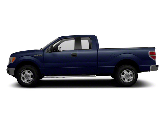 Dark Blue Pearl Metallic 2010 Ford F-150 Pictures F-150 Supercab XLT 4WD photos side view