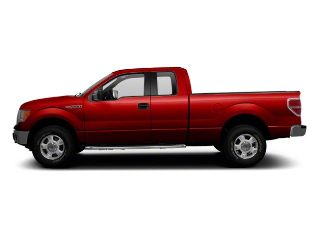 Vermillion Red 2010 Ford F-150 Pictures F-150 Supercab XLT 4WD photos side view