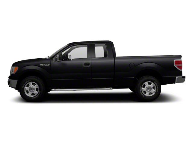 Tuxedo Black 2010 Ford F-150 Pictures F-150 SuperCab Raptor 4WD photos side view