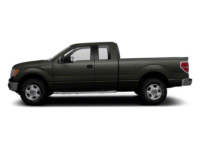 Sterling Grey Metallic 2010 Ford F-150 Pictures F-150 Supercab XLT 4WD photos side view