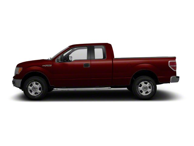 Royal Red Metallic 2010 Ford F-150 Pictures F-150 SuperCab Lariat 2WD photos side view