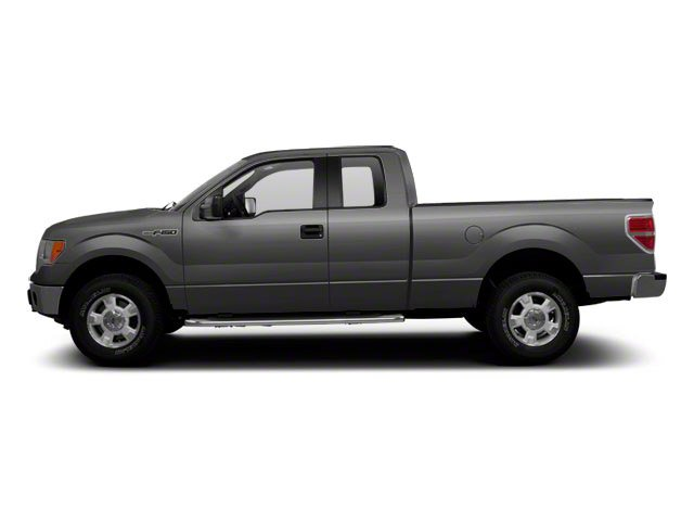 Ingot Silver 2010 Ford F-150 Pictures F-150 Supercab XLT 4WD photos side view