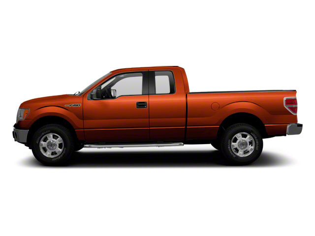 Molten Orange Tri-Coat 2010 Ford F-150 Pictures F-150 SuperCab Raptor 4WD photos side view