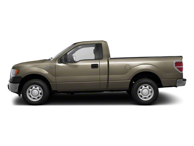 Pueblo Gold Metallic 2010 Ford F-150 Pictures F-150 Regular Cab XLT 2WD photos side view
