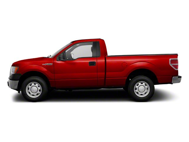 Red Candy Metallic 2010 Ford F-150 Pictures F-150 Regular Cab XLT 2WD photos side view