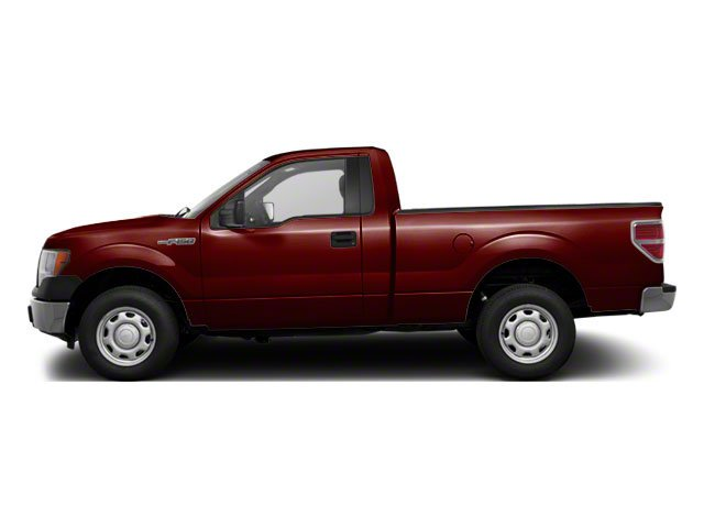 Royal Red Metallic 2010 Ford F-150 Pictures F-150 Regular Cab XLT 2WD photos side view