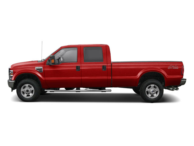 Vermillion Red 2010 Ford Super Duty F-250 SRW Pictures Super Duty F-250 SRW Crew Cab XL 4WD photos side view
