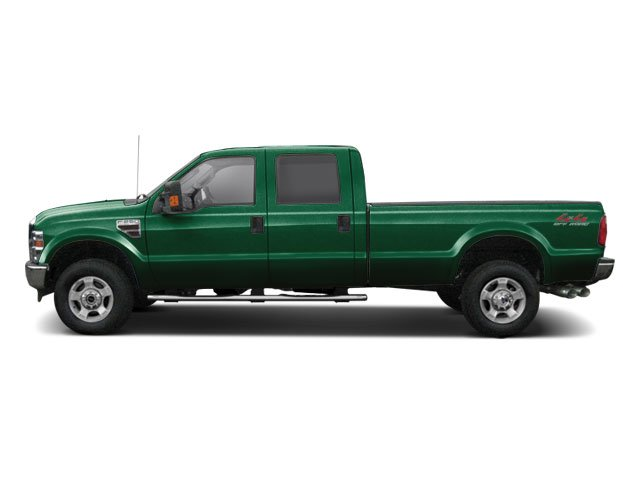 Forest Green Metallic 2010 Ford Super Duty F-250 SRW Pictures Super Duty F-250 SRW Crew Cab Cabela 4WD photos side view