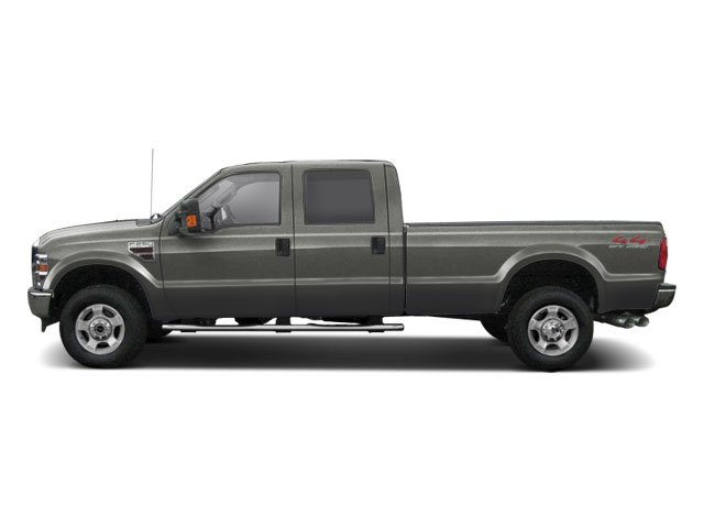 Sterling Grey Metallic 2010 Ford Super Duty F-250 SRW Pictures Super Duty F-250 SRW Crew Cab XL 4WD photos side view