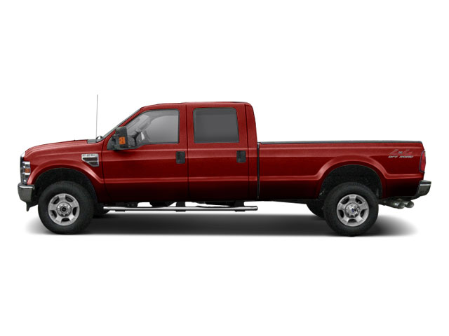 Royal Red Metallic 2010 Ford Super Duty F-250 SRW Pictures Super Duty F-250 SRW Crew Cab King Ranch 2WD photos side view