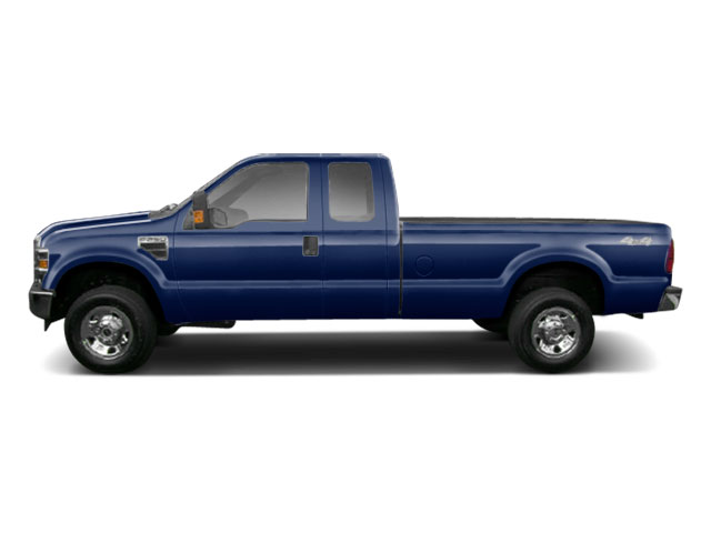 Dark Blue Pearl 2010 Ford Super Duty F-250 SRW Pictures Super Duty F-250 SRW Supercab Lariat 2WD photos side view