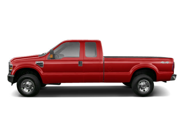 Vermillion Red 2010 Ford Super Duty F-250 SRW Pictures Super Duty F-250 SRW Supercab XLT 2WD photos side view