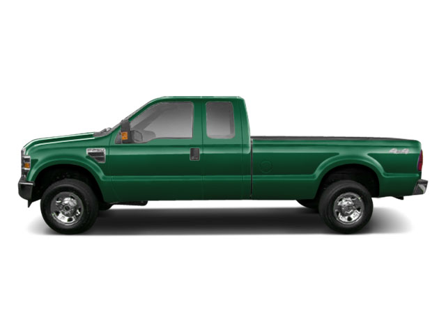 Forest Green Metallic 2010 Ford Super Duty F-250 SRW Pictures Super Duty F-250 SRW Supercab Lariat 2WD photos side view