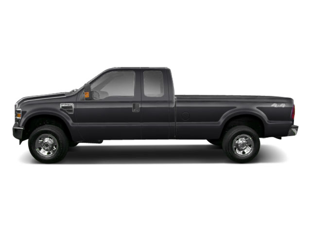 Black 2010 Ford Super Duty F-250 SRW Pictures Super Duty F-250 SRW Supercab Lariat 2WD photos side view