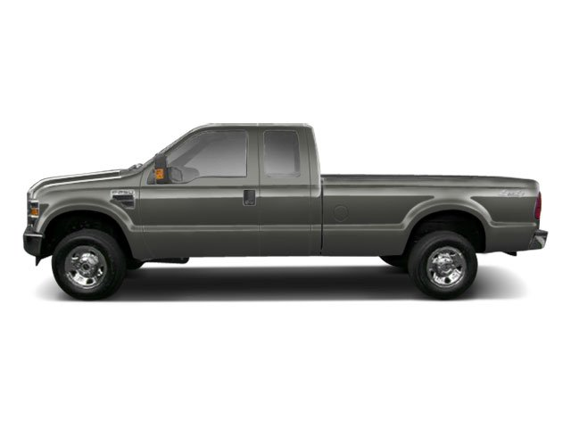 Sterling Grey Metallic 2010 Ford Super Duty F-250 SRW Pictures Super Duty F-250 SRW Supercab Lariat 2WD photos side view