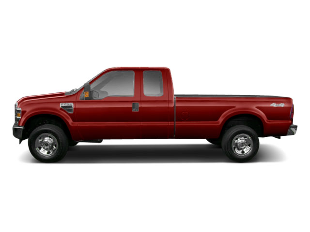 Royal Red Metallic 2010 Ford Super Duty F-250 SRW Pictures Super Duty F-250 SRW Supercab XLT 2WD photos side view