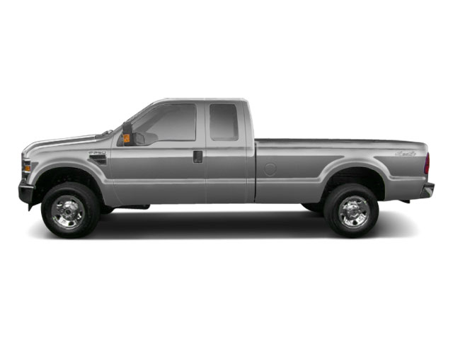 Ingot Silver Metallic 2010 Ford Super Duty F-250 SRW Pictures Super Duty F-250 SRW Supercab Lariat 2WD photos side view