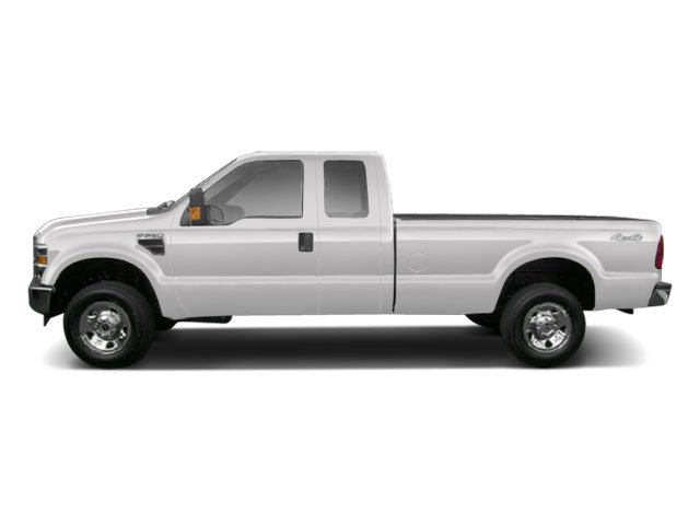 Oxford White 2010 Ford Super Duty F-250 SRW Pictures Super Duty F-250 SRW Supercab Lariat 2WD photos side view
