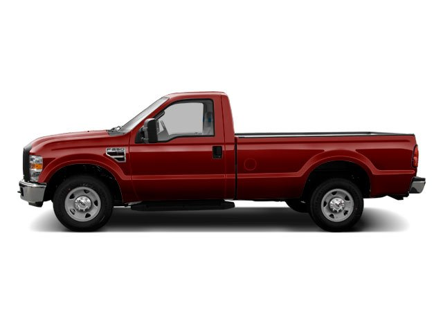 Royal Red Metallic 2010 Ford Super Duty F-250 SRW Pictures Super Duty F-250 SRW Regular Cab XLT 2WD photos side view