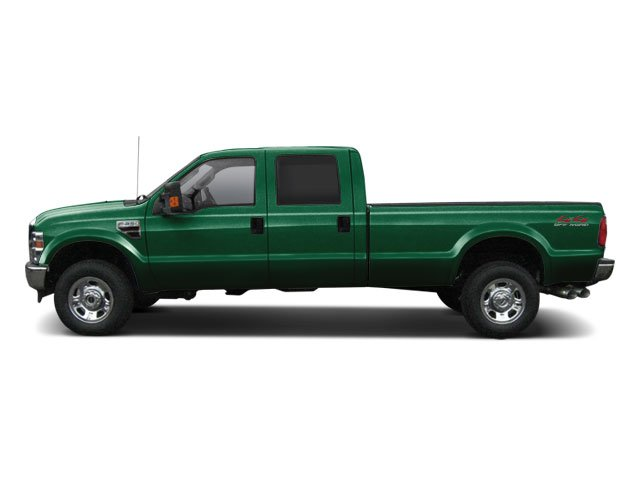 Forest Green Metallic 2010 Ford Super Duty F-350 DRW Pictures Super Duty F-350 DRW Crew Cab Lariat 4WD photos side view