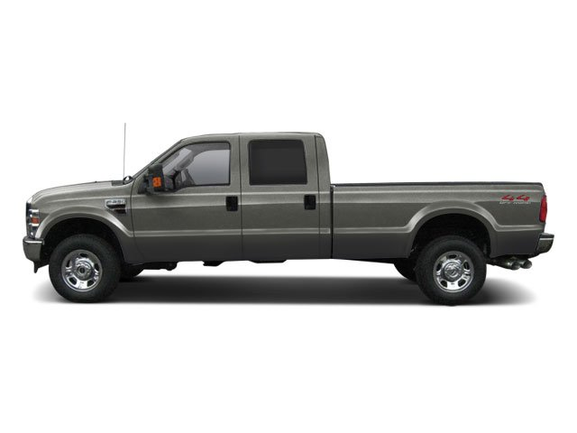 Sterling Grey Metallic 2010 Ford Super Duty F-350 DRW Pictures Super Duty F-350 DRW Crew Cab Lariat 4WD photos side view