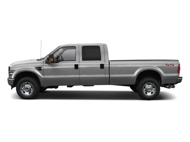 Ingot Silver Metallic 2010 Ford Super Duty F-350 DRW Pictures Super Duty F-350 DRW Crew Cab Lariat 4WD photos side view