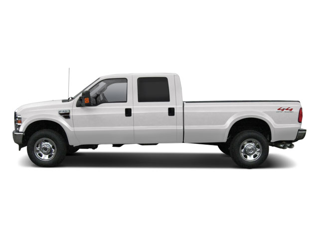 Oxford White 2010 Ford Super Duty F-350 DRW Pictures Super Duty F-350 DRW Crew Cab Lariat 4WD photos side view