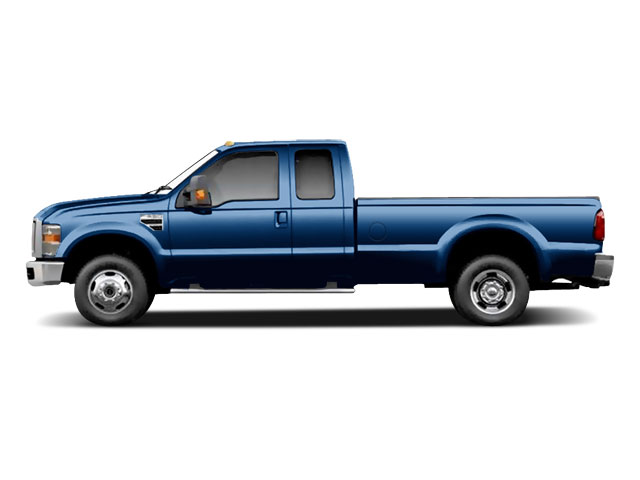Dark Blue Pearl 2010 Ford Super Duty F-350 DRW Pictures Super Duty F-350 DRW Supercab Lariat 4WD photos side view