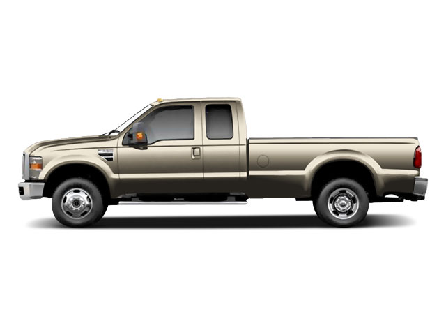 Pueblo Gold Metallic 2010 Ford Super Duty F-350 DRW Pictures Super Duty F-350 DRW Supercab Lariat 4WD photos side view