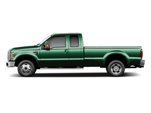 Forest Green Metallic 2010 Ford Super Duty F-350 DRW Pictures Super Duty F-350 DRW Supercab XL 4WD photos side view