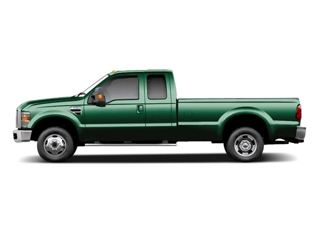 Forest Green Metallic 2010 Ford Super Duty F-350 DRW Pictures Super Duty F-350 DRW Supercab Lariat 4WD photos side view