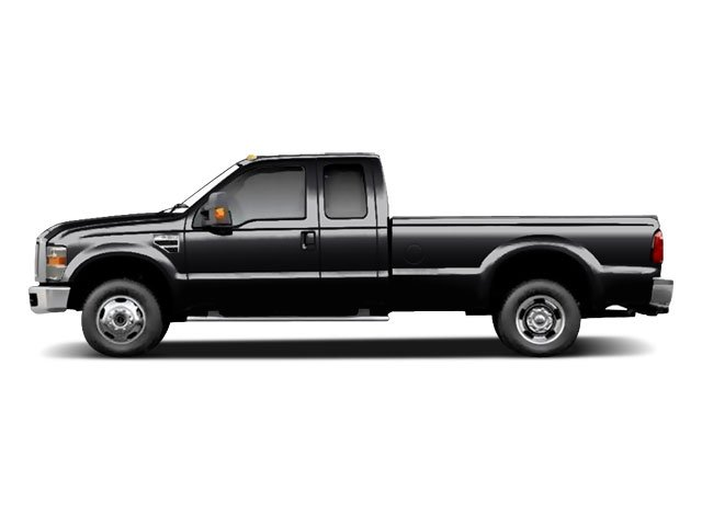 Black 2010 Ford Super Duty F-350 DRW Pictures Super Duty F-350 DRW Supercab Lariat 4WD photos side view