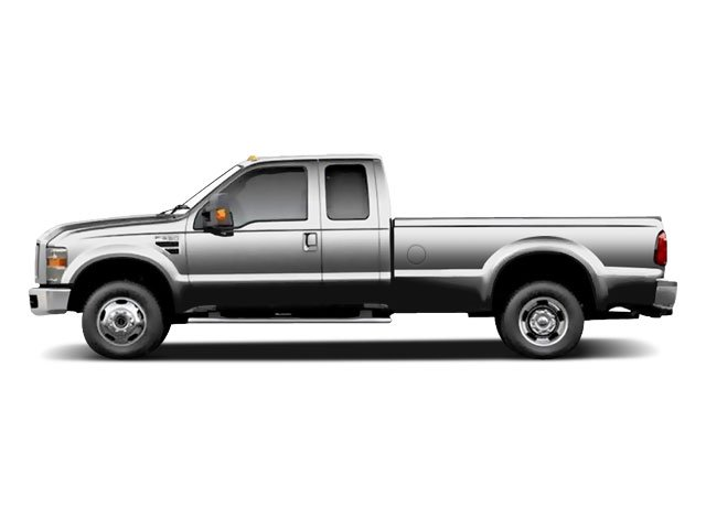 Ingot Silver Metallic 2010 Ford Super Duty F-350 DRW Pictures Super Duty F-350 DRW Supercab Lariat 4WD photos side view