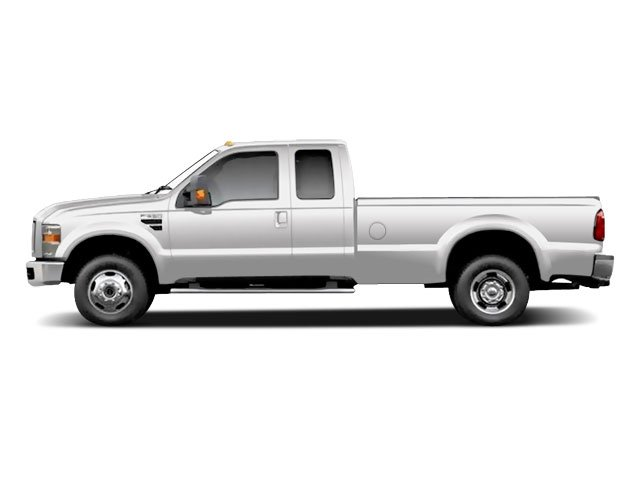 Oxford White 2010 Ford Super Duty F-350 DRW Pictures Super Duty F-350 DRW Supercab XL 4WD photos side view