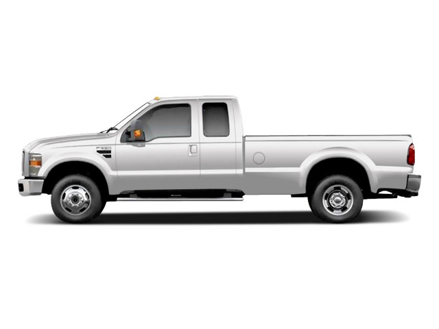 Oxford White 2010 Ford Super Duty F-350 DRW Pictures Super Duty F-350 DRW Supercab Lariat 4WD photos side view