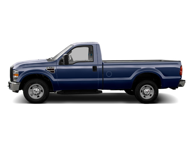Dark Blue Pearl 2010 Ford Super Duty F-350 DRW Pictures Super Duty F-350 DRW Regular Cab XLT 4WD photos side view