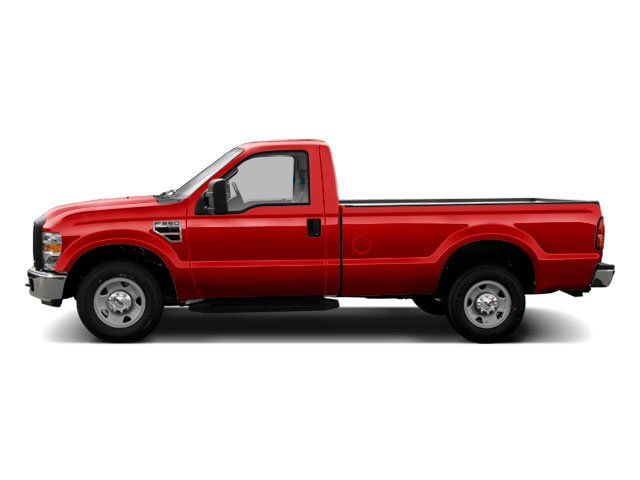 Vermillion Red 2010 Ford Super Duty F-350 DRW Pictures Super Duty F-350 DRW Regular Cab XLT 4WD photos side view