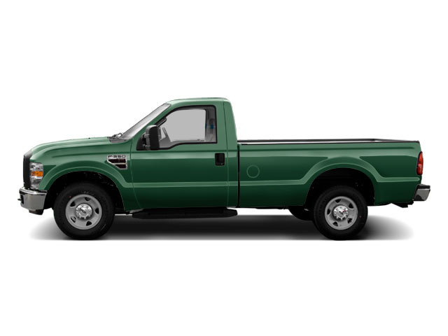 Forest Green Metallic 2010 Ford Super Duty F-350 DRW Pictures Super Duty F-350 DRW Regular Cab XLT 4WD photos side view