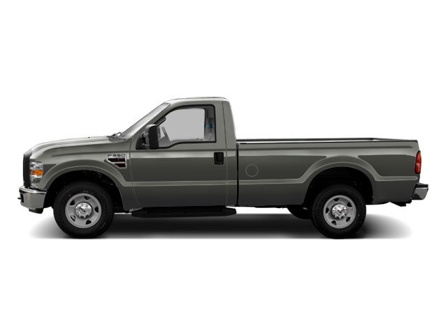 Sterling Grey Metallic 2010 Ford Super Duty F-350 DRW Pictures Super Duty F-350 DRW Regular Cab XLT 4WD photos side view