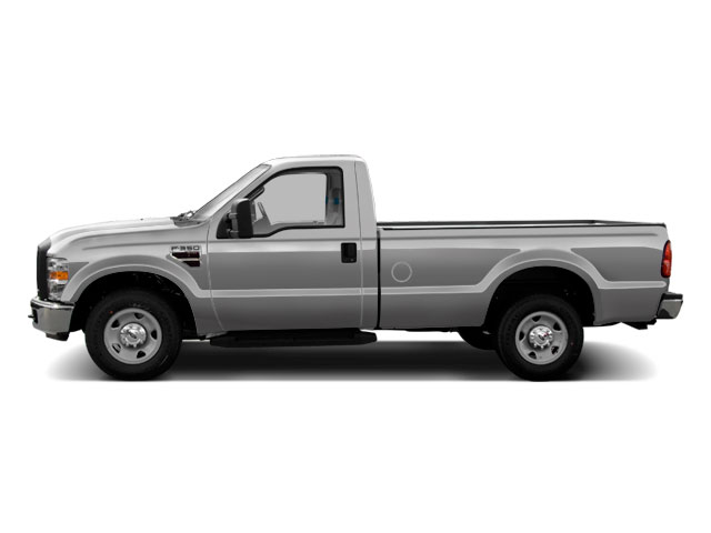 Ingot Silver Metallic 2010 Ford Super Duty F-350 DRW Pictures Super Duty F-350 DRW Regular Cab XLT 4WD photos side view
