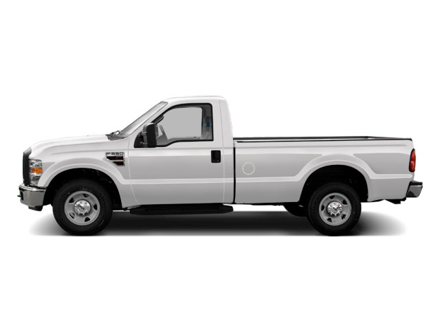 Oxford White 2010 Ford Super Duty F-350 DRW Pictures Super Duty F-350 DRW Regular Cab XLT 4WD photos side view